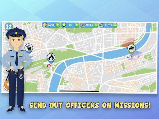 Code Triche Police Inc: Simulation de commissariat de Tycoon  APK MOD (Astuce) screenshots 6