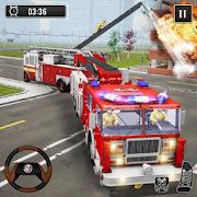 Fire Truck Driving 911 City Rescue Simulator