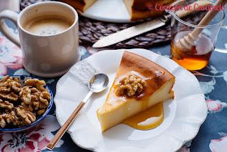 Photo: Tarta de Requesón http://www.corazondecaramelo.es/tarta-de-requeson-o-quesada-gallega/ Beatriz / Madrid / Sony A7S