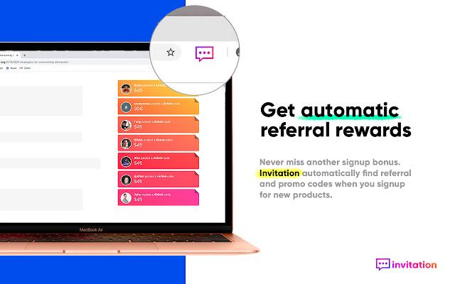 Invitation ← referral & coupon codes