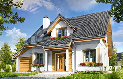 projekt domu Spokojny
