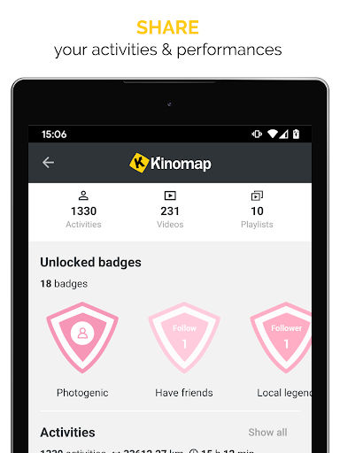 Kinomap - Indoor training videos screenshots 11
