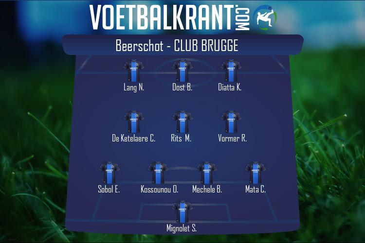 Club Brugge (Beerschot - Club Brugge)