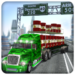 Snow Army Truck Driving 2017 Icon