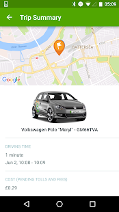 Zipcar UK- screenshot thumbnail