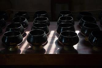 Photo: Donation bowls.