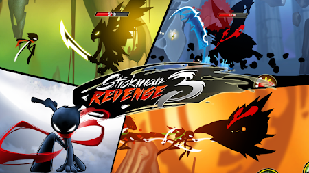 Stickman Revenge 3 - Ninja Warrior - Shadow Fight APK screenshot thumbnail 8