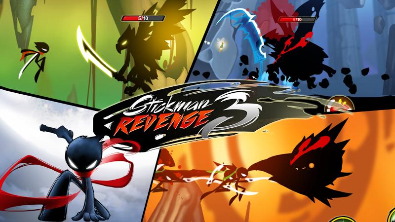 Stickman Revenge 3 - Ninja Warrior - Shadow Fight Screenshot 7