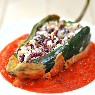 Healthy Chiles Rellenos