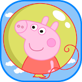 Balloons Pop Peppa Kids Games