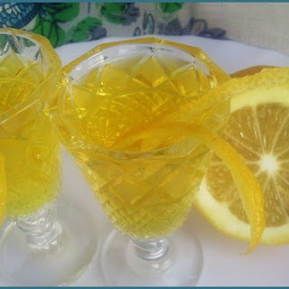 Tsytrusivka (homemade Lemon Alcoholic Drink).