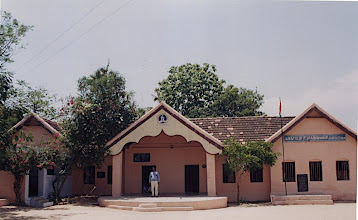 Photo: Panoramic view of Concordia, Pernambut IELC India This structure was built by Rev. Ed Bertram, Sr. 60 years ago. Still the main source of class rooms.