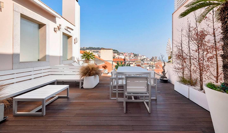 Appartement contemporain avec terrasse Lisbonne
