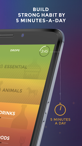 Drops: Learn Swedish language and words for free screenshot 4