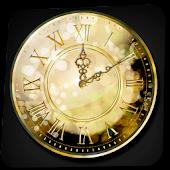 Gold Clock Widget