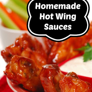 Homemade Hot Wing Sauces