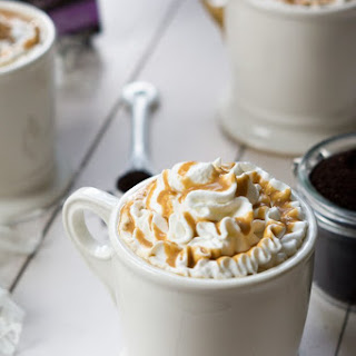 {Boozy or Not} Whipped Caramel Macchiato