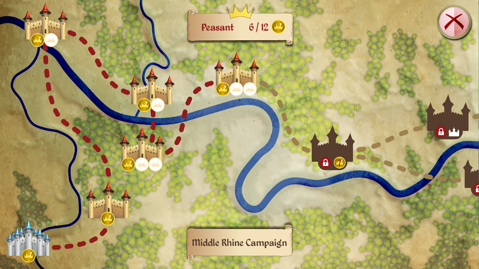 Castles of Mad King Ludwig- screenshot