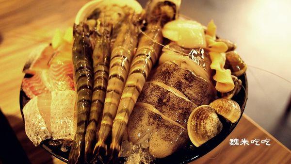 台中 竹間精緻鍋物 海鮮超澎派