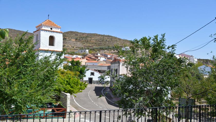 Vista de la localidad.