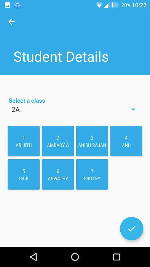 SAFE KIDS App For Faculty- screenshot