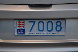 Photo: upútala ma značka Monackého kniežatstva, až tak často ju nie je vidno