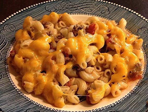 Chuck Wagon Skillet Macaroni Recipe