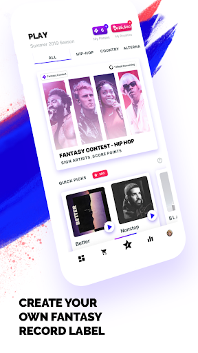FanLabel - Daily Music Contests screenshots 2