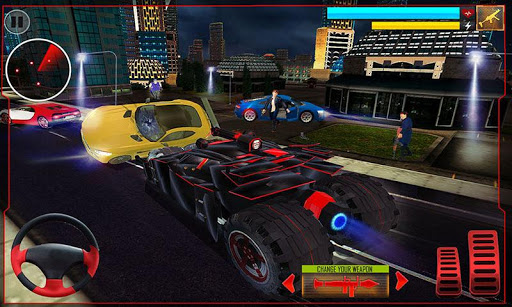 Super Hero Robot Transforming Games Real Robot Bat 11 screenshots 4