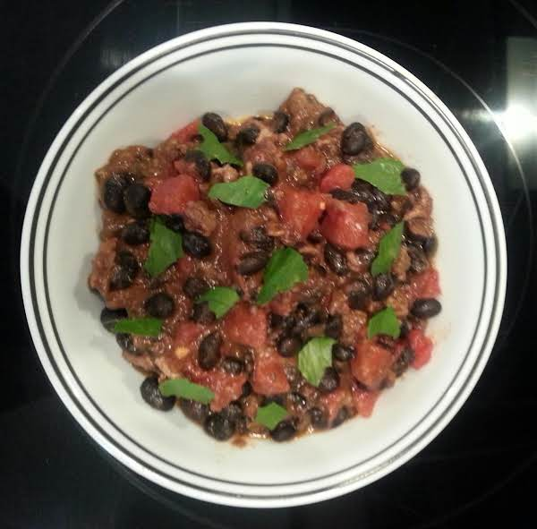 Spicy Chorizo & Black Beans Recipe