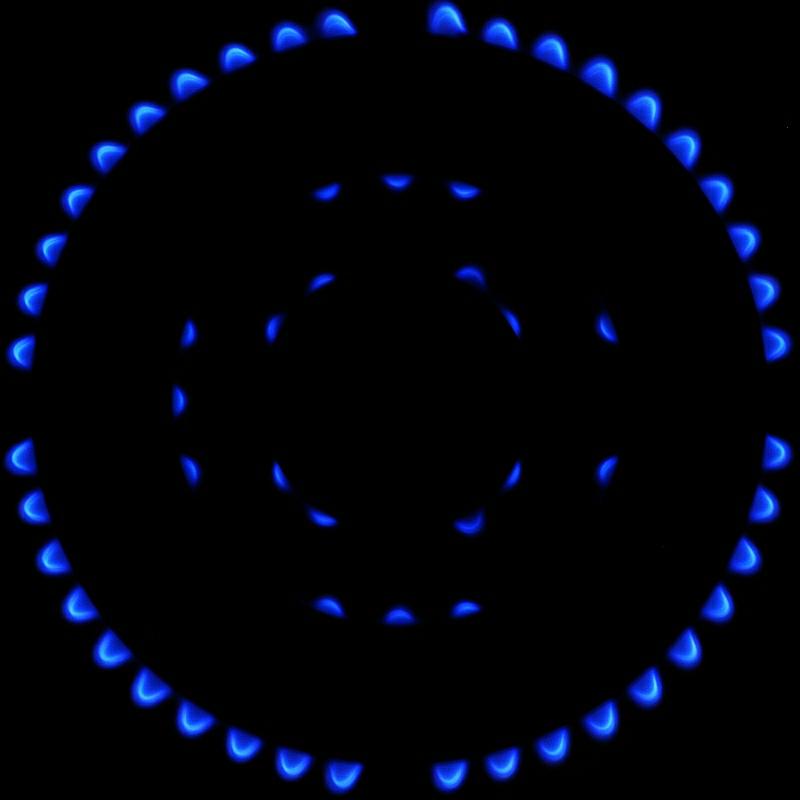 Concentrico blu di Paolo Zanoni
