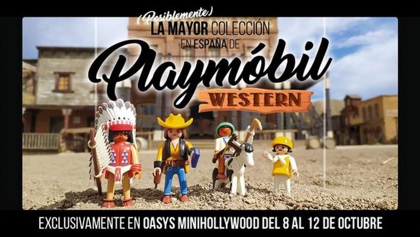 Los Clicks de Playmóbil llegan a Almería Western Festival.