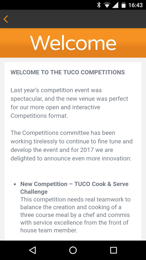 TUCO Conference- screenshot