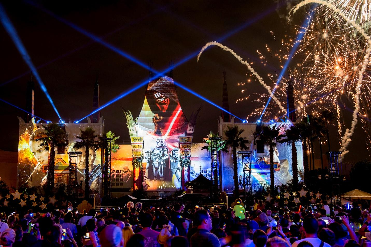 Star Wars Galactic Spectacular at Hollywood Studios in Walt Disney World