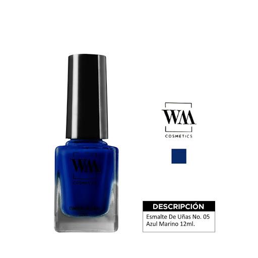 Esmalte WM 05 Azul Marino 12 ML