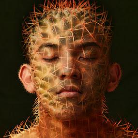 Alovera Man by Gerico Canlapan - People Fine Art ( gerico canlapan )