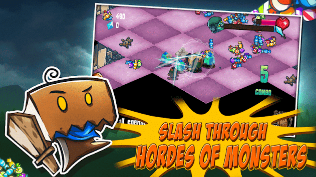 Slashy Hero APK screenshot thumbnail 2