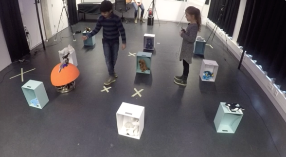 <p>Playing with a social robot: author's behavioural observation of child-robot and child-child social dynamics in a collaborative play activity (University of Twente, the Netherlands 2017</p>