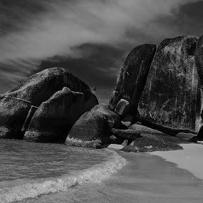 Belitong Beach by Basuki Mangkusudharma - Landscapes Beaches ( belitong )