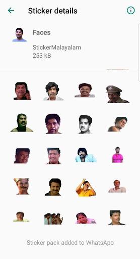 Sticker Malayalam 2.5 screenshots 4