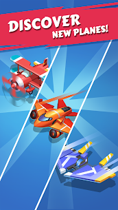 Merge Plane – Click & Idle Tycoon Mod 1.19.0 Apk [Unlimited Money] 4