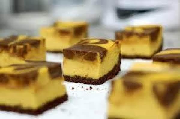 Pumpkin Chocolate Cheesecake Squares Recipe
