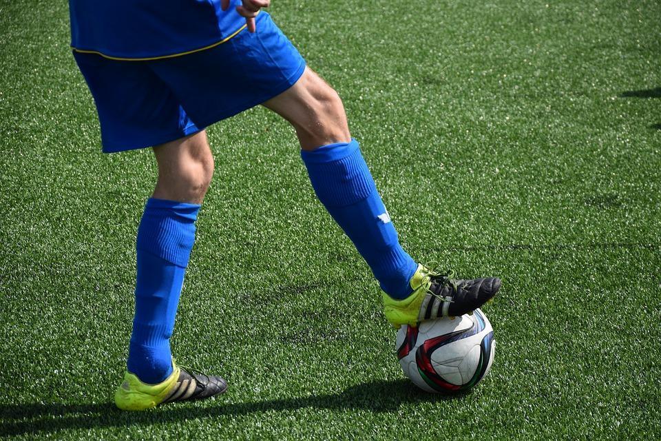 Fußball, Ball, Fussball, Spiel, Ballsport, Gras