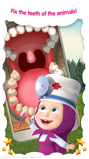 Masha and the Bear: Vet Clinic 3.21 screenshots 4