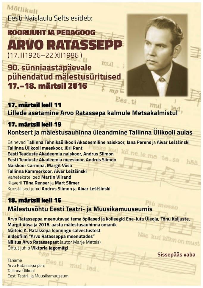 Arvo Ratassepp 90