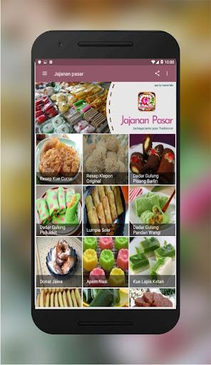 Resep Jajanan Pasar Lengkap App Report On Mobile Action