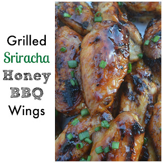 Grilled Honey BBQ Wings.