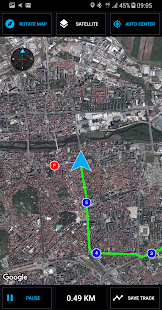 GPS Compass Navigator Screenshot