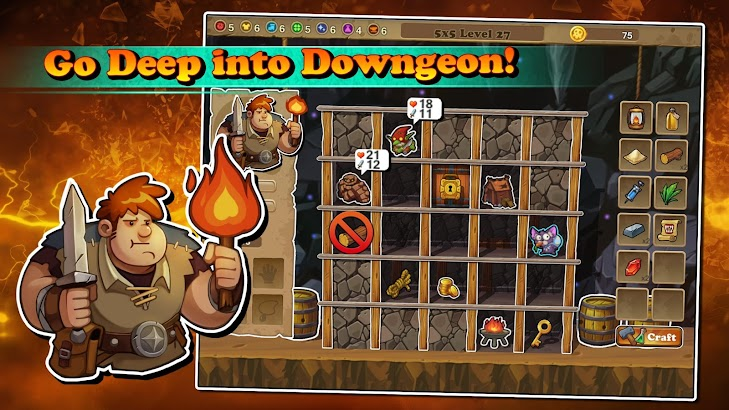 DowngeonQuest screenshot