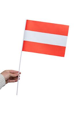 Pappersflagga, Österrike